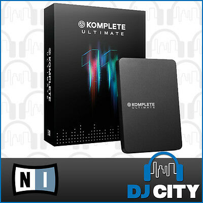 Native Instruments Komplete 11 Ultimate Production Suite