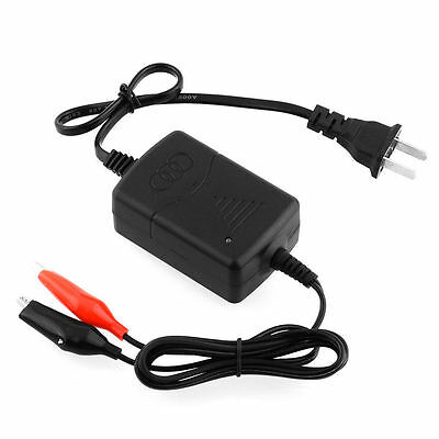 Car Auto Truck Motorcycle 12V Smart Compact Battery Charger Tender Maintainer KY