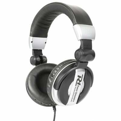 Power Dynamics PH200 Pro DJ Headphones with High-Bass and Swivel Ear Cups - New