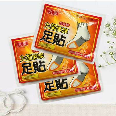 10pcs Body Stick Lasting Heat Patch Keep Hand Foot Warm Winter Warmer Paste Pad