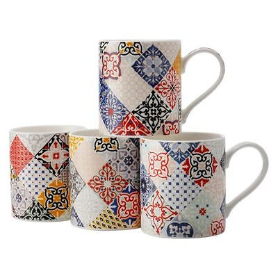 NEW Maxwell & Williams Marrakesh Mug, 380ml (Set of 4)