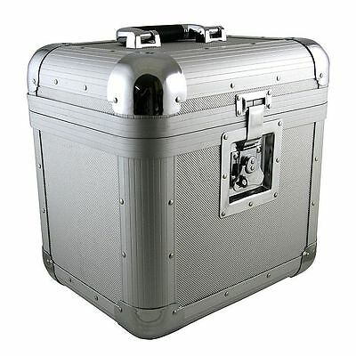 "Citronic CVA50 Aluminium DJ 12"" Vinyl Record Box Flight Case 50"