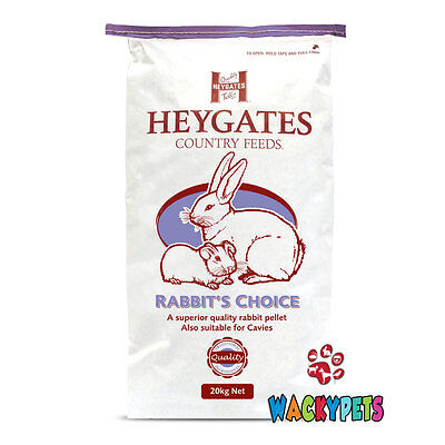 Heygates Rabbit's Choice Pellets Rabbit / Guinea Pig Complete Food 20kg (HEY018)
