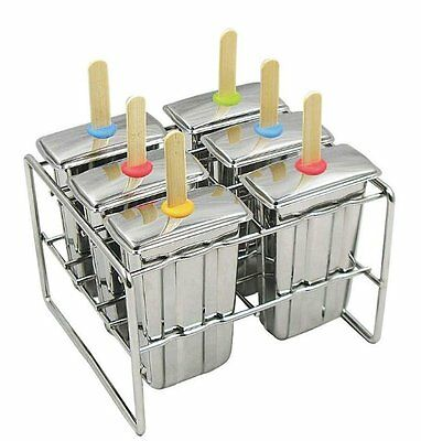 Onyx Stainless Steel Popsicle Mold BPA Free Popsicle, Stainless Steel [POP004]