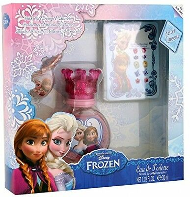 DISNEY Frozen Set Eau De Toilette 30 Ml/ Bracelet/ Earrings Stickers