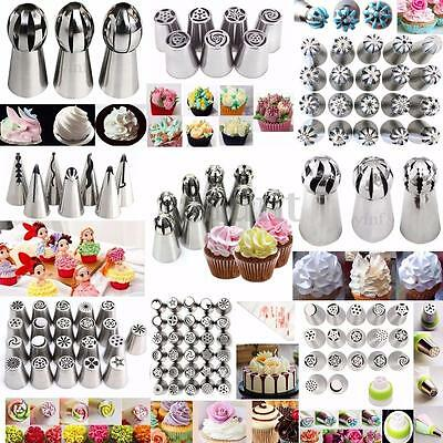 Russian Tulip Flower Icing Piping Nozzles Tips Cake Decorating Baking Tool Set