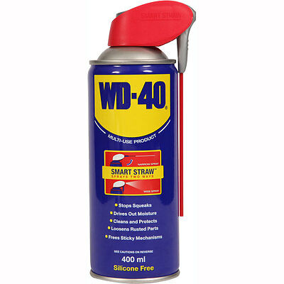 Motorcycle WD40 Smart Straw 400ml Can UK Seller