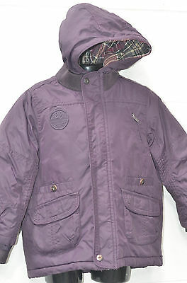Little Girls Purple Hooded Coat UK Age 4 Years (Or 104cm Tall) from Chicco