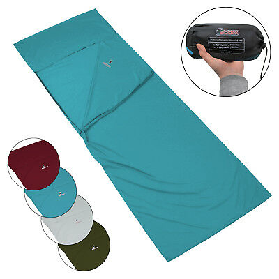 Polycotton Sleeping Bag Liner POCKET PETER by Alpidex Inlay Inner Sheet Camping