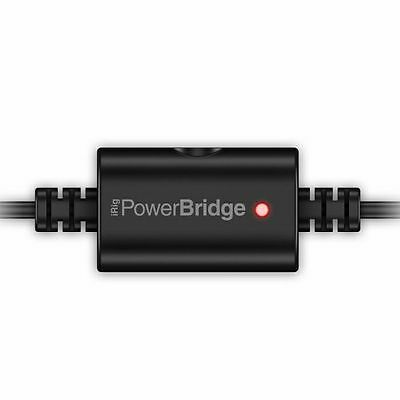 IK Multimedia iRig Power Bridge Lightning Charger For iPhone/iPad With iRig D...