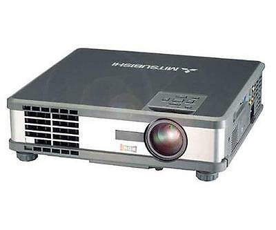 Mitsubishi XL5U LCD Projector With 1124 Lamp Hours