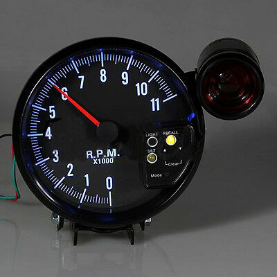 5 Inches 11000 RPM Programable Shift Light Tachometer 8351