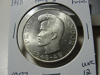 1948 Hungary 5 Forint Uncirculated Coin