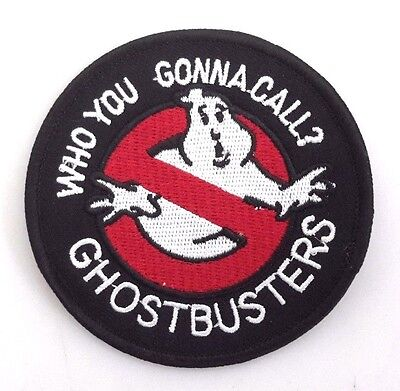 """Ghostbusters No Ghosts  """"Who You Gonna Call""""  Logo 3.25"""" Patch-USA Mail(GBPA-17)"""