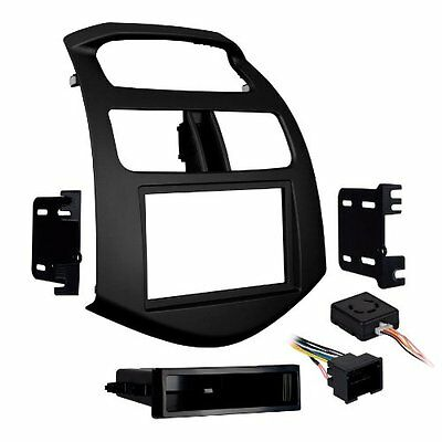 Metra 99-3309B-LC Single/Double DIN Stereo Installation Dash Kit for 2013-U