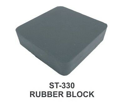 "PARUU® RUBBER BENCH BLOCK FOR JEWELERS 6X4X1"" st330-6x4x1"