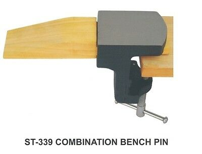 PARUU® Clamp On Combination Bench Pin and Anvil for Jewelers ST339