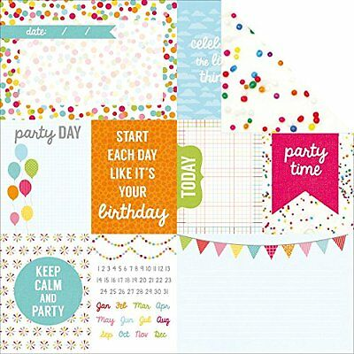 """Pop! Double-Sided Cardstock 12""""X12""""-Frosting"""