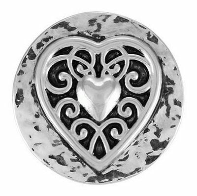 Ginger Snaps VINTAGE HEART SN01-01 Interchangeable Jewelry S