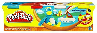 Hasbro Playdoh 4 Pack, assorted colors