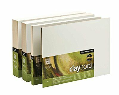Ampersand Original Smooth Claybord 14 in. x 18 in. each