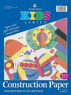 Strathmore Youth Construction Paper Pad, Assorted Colors