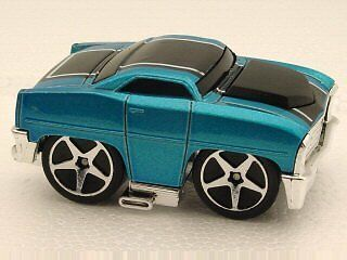 Mattel Hot Wheels 2005 First Editions 1:64 Scale Blings Blue