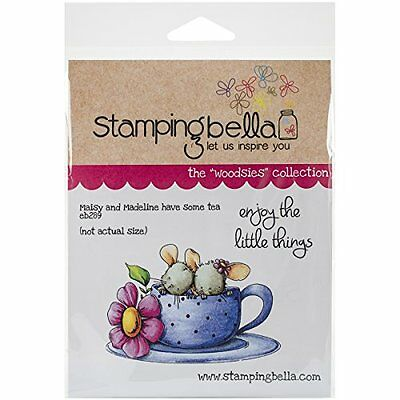 "Stamping Bella Cling Rubber Stamp 6.5""X4.5""-Maisy & Madeline"