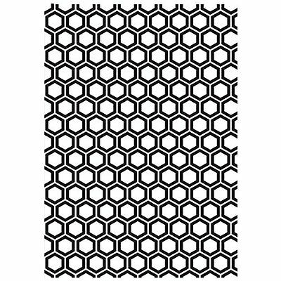 "Kaisercraft Embossing Folder 5""X7""-Honeycomb"