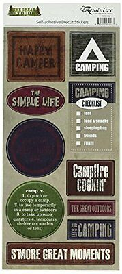 Reminisce The Great Outdoors Camping Sticker