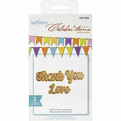 Spellbinders SCD-026 Celebra'tions All You Embellishment