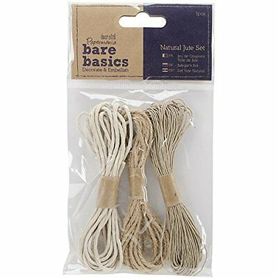 docrafts Papermania Bare Basics Natural Jute