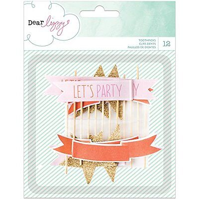 American Crafts 370100 Dear Lizzy Fine and Dandy Toothpicks