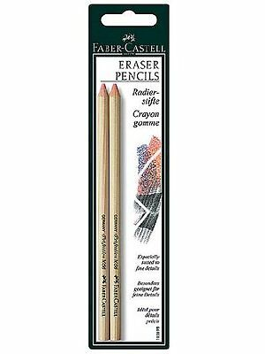 Faber-Castell Perfection Eraser Pencils pack of 2 [PACK OF 4