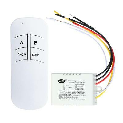 Wireless 1/2/3/ Ways ON/OFF Lamp Remote Control Switch Receiver Transmitter