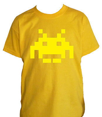 fm10 t-shirt child 4 SPACE INVADERS anni80 vintage VIDEOGAMES