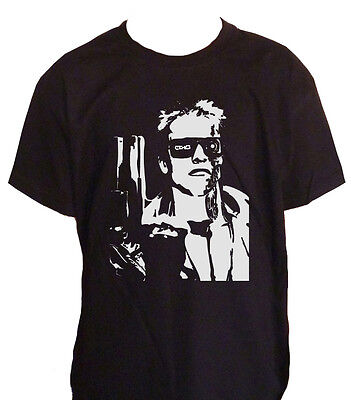 Fm10 T-Shirt Child Terminator Arnold Schwarzenegger Cinema