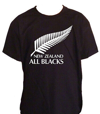 Fm10 T-Shirt Child all Blacks Rugby New Zeland Sport