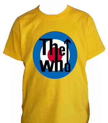 fm10 t-shirt child THE WHO rock band logo MUSIC
