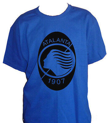 Fm10 T-Shirt Child Atalanta Bergamo Football Dea Nerazzurri Sport