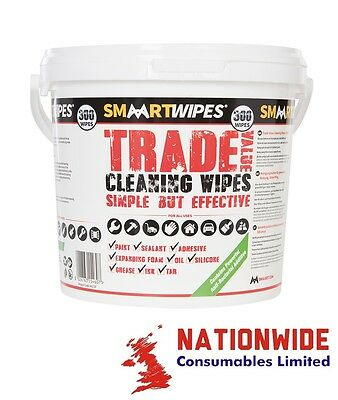 845797, SMAART WIPES, Trade Value Cleaning Wipes 300pk, Cleaning Wipes, Trade