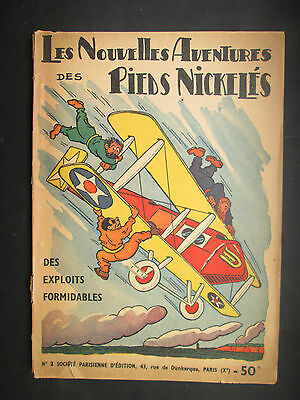 Forton Les  Pieds Nickeles Des Exploits Formidables N° 2 1949 Tbe