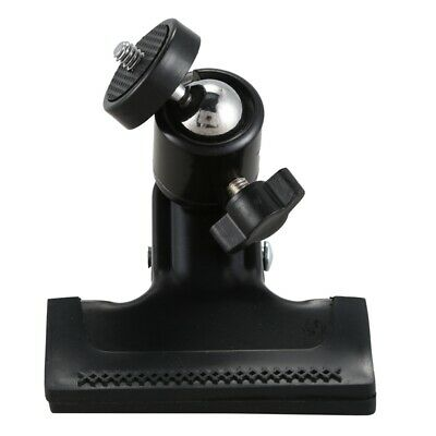 Metal Photo Studio Flash Spring Clamp Clip Mount With Ball Head--Black AD