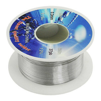 Solid Solder 0.3mm Flux Core 63% Tin 37% Le Long Wire Reel AD