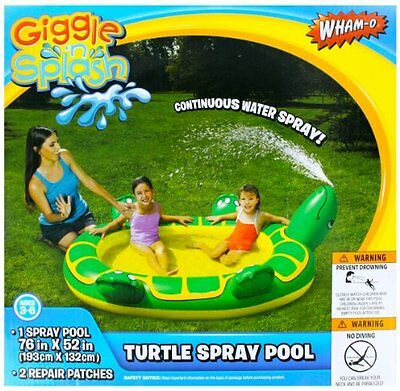 Wham-o Turtle Spray Pool