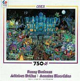 Ceaco Funny Business - Haunted Party Puzzle