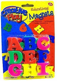 Halsall Creative Play Educational Magnets - Letters
