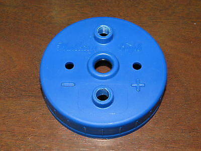 "Custom DIY HHO Generator Lid Wide Mouth Pre-Drilled 1/8"" NPT Dual Output, QTY 1"