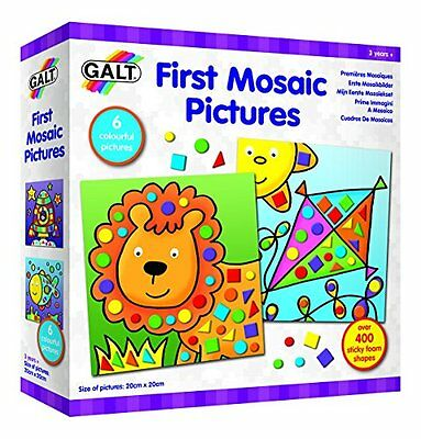 Galt Play & Learn - First Mosaic Pictures Art Kit