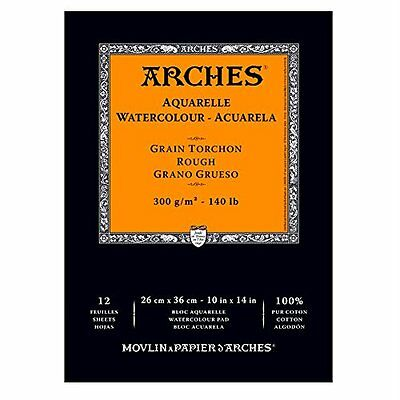 """Arches Watercolor Pad, Rough, 10"""" x 14"""""""
